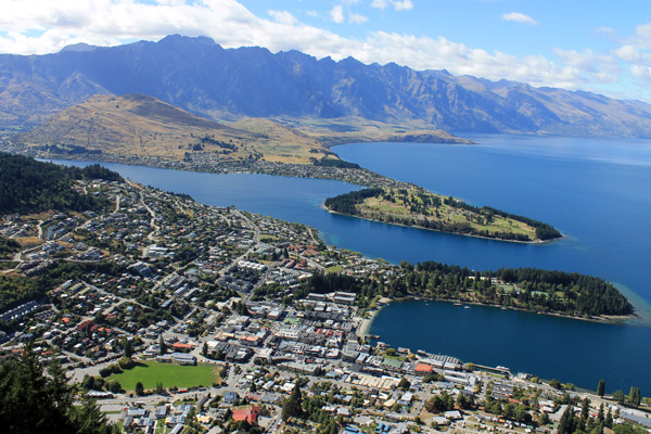 Ben Lommond, Queenstown