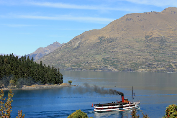 Million Dollar Cruise en el lago Wakatipu